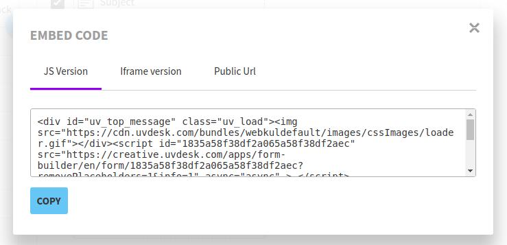 Form .JS Code