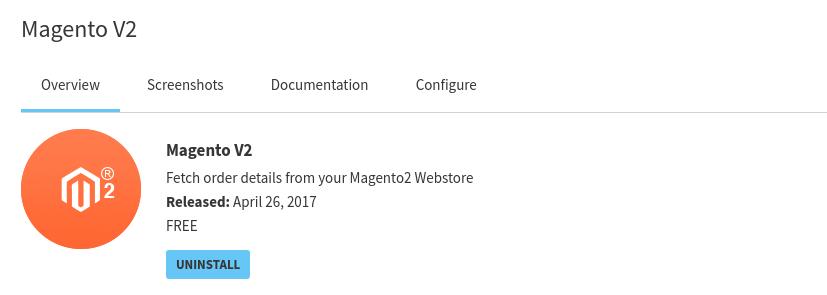 Magento 2 Order Fetch App