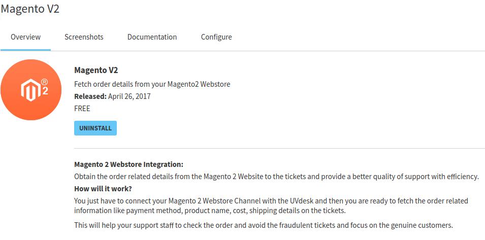 Magento Order Fetch Module
