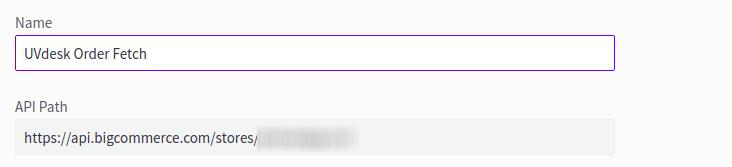 UVdesk Order Fetch API