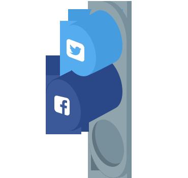 社会媒体应用程序