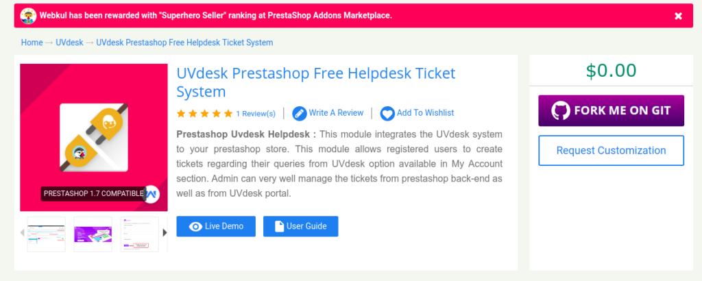4cdea8a9aabc PrestaShop Help Desk