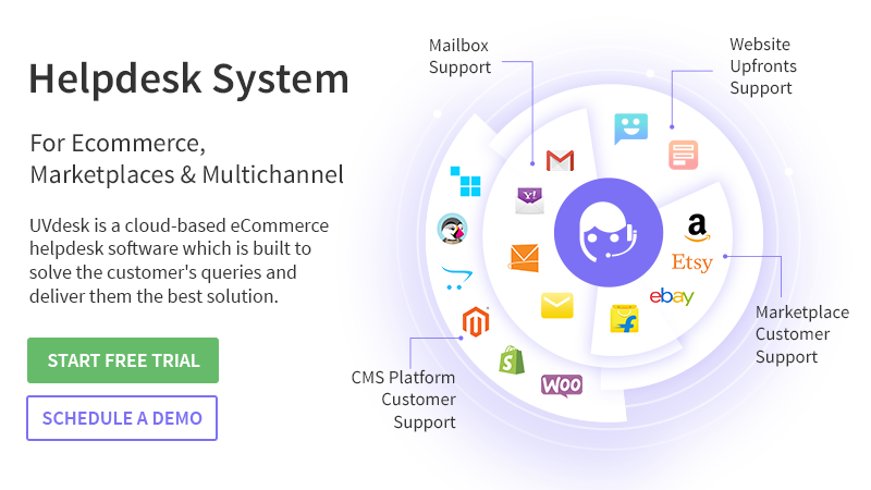 E-commerce Helpdesk System