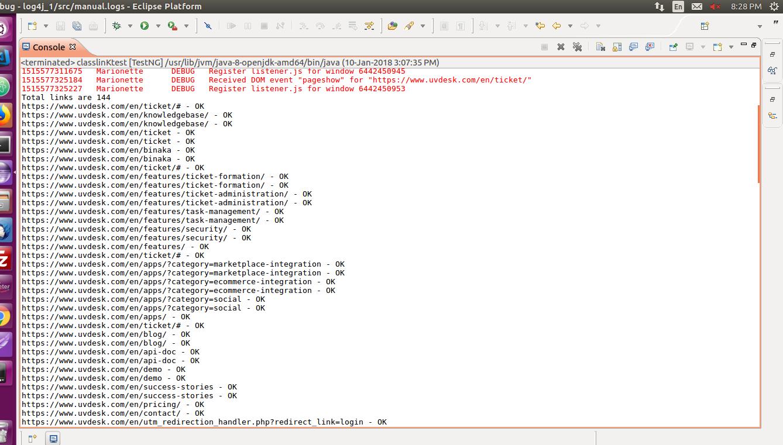 How To Find Broken Links Using Selenium WebDriver - UVdesk Helpdesk