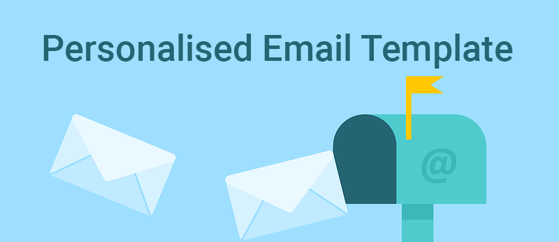personalised email template