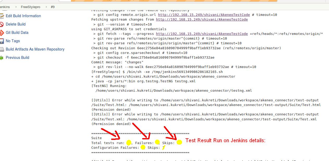 Jenkins Configuration in Git with Selenium - UVdesk Helpdesk