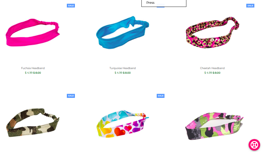 FASTENSWIM headbands