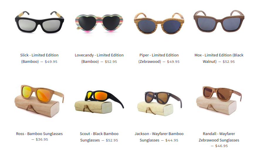 sunglasses B & J