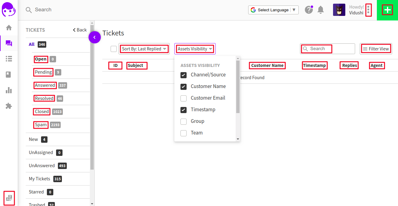 Ticketing Tools
