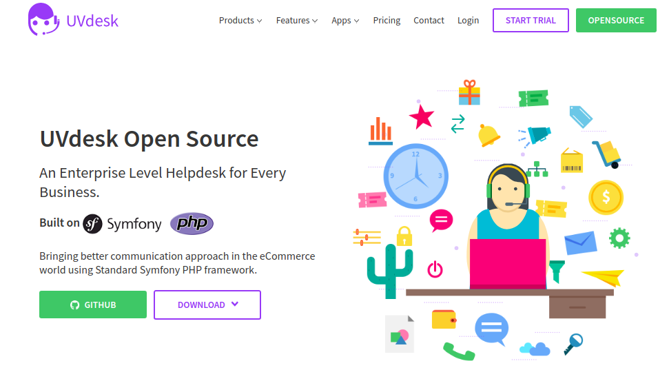 Open Source Help Desk Ticketing
