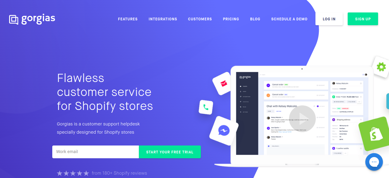 Gorgias Shopify App