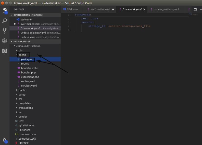 editor mailbox configuration