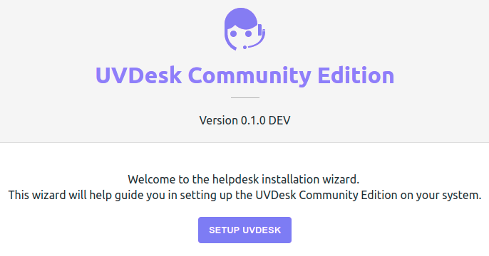 Set Up UVdesk Open Source Helpdesk on Ubuntu