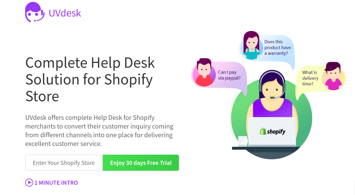 Shopify Helpdesk