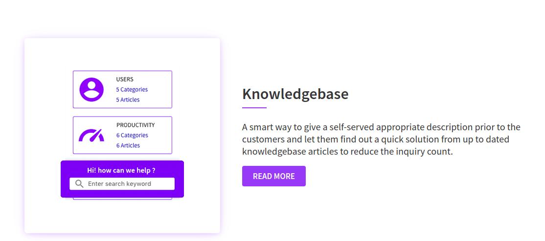 knowledgebase Open Source Helpdesk